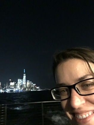 I'm on a boat!